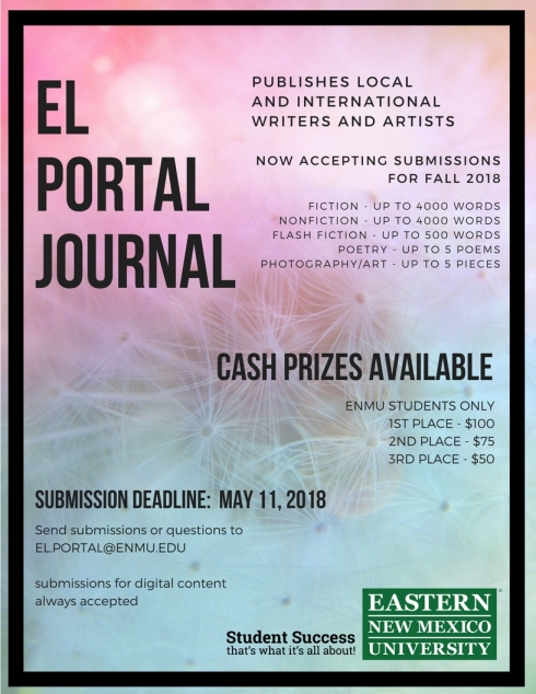 call for submissions 2018