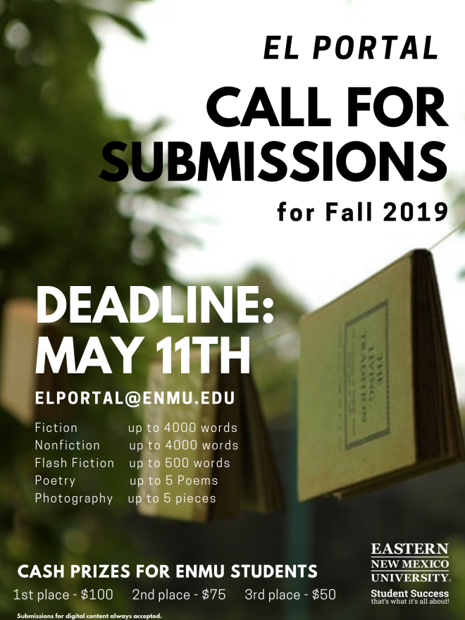 Call for Submissions 2019 Fall