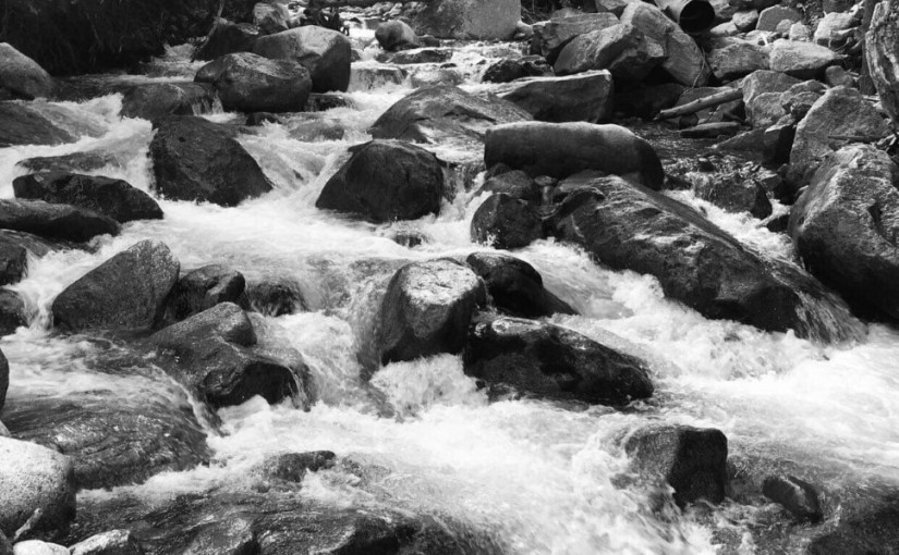 Raging River & Rocks